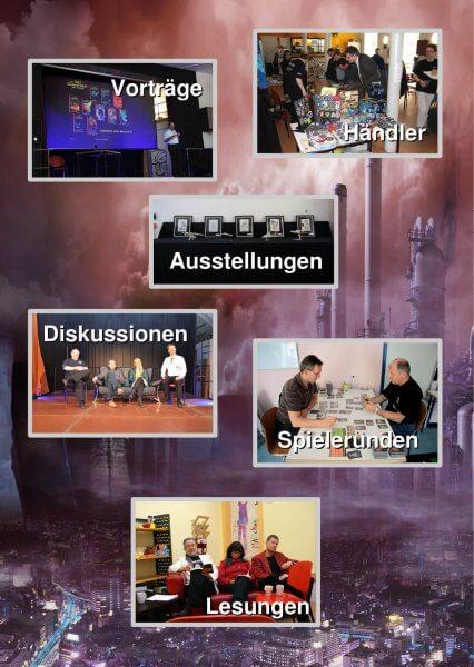 Flyer Raum und Zeit Continuum