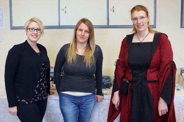 Heat the Read 2019 - Norah Wesberg, Nicole Kudelka und Laura Kier Foto