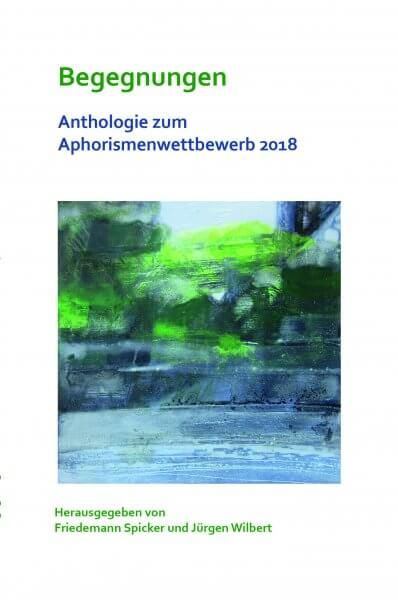 Aphorismen 2018 Anthologie Cover