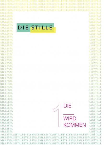Die Stille Literaturzeitschrift Cover