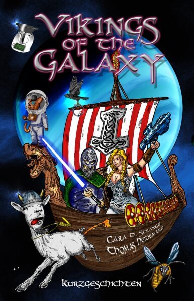 Vikings of the Galaxy Anthologie Cover