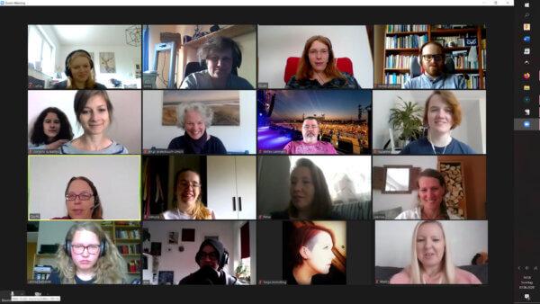 Schreibgruppe am 03.05.2020 - Zoommeeting