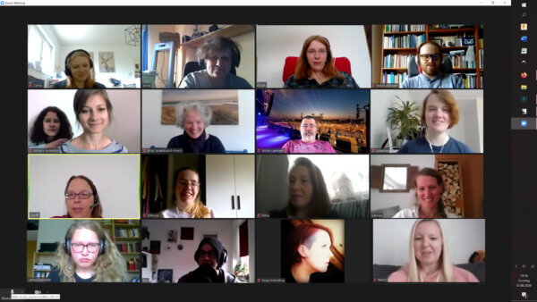 Schreibgruppe am 07.06.2020 - Zoommeeting