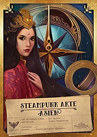 Steampunk Akte Asien Cover