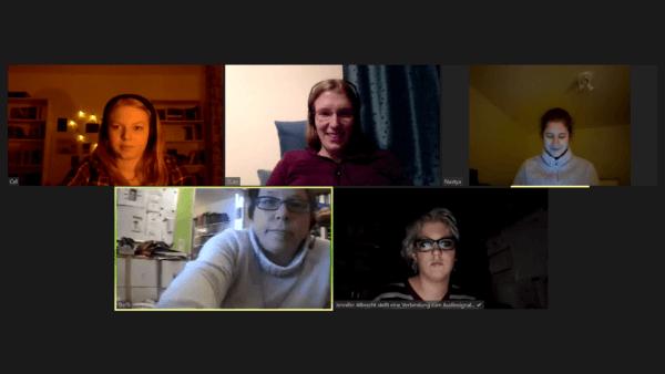 Schreibgruppe am 16.12.2020 - Zoommeeting